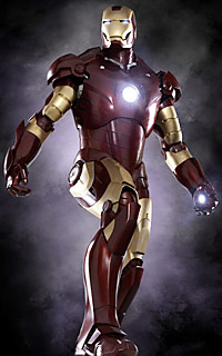 La armadura Mark III de Iron Man!